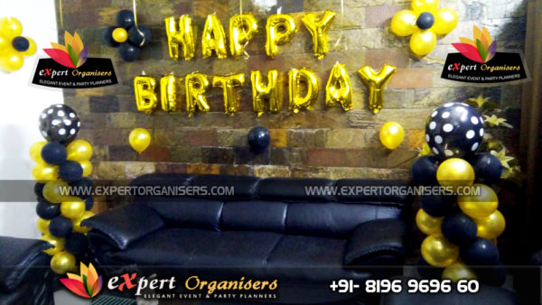 Surprise Room Decoration for Birthday in Chandigarh Mohali Panchkula
