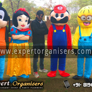 Goofy, Snow White, Super Mario, Minion Cartoon Costume on Rent