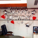 Birthday Decorations – Office Cabin