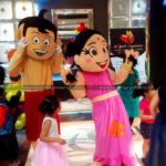 Chhota Bheem and Chutki Costume on Rent