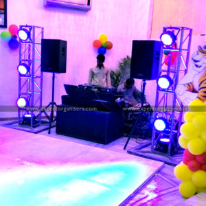 DJ Setup for Birthday Parties on Rent in Chandigarh