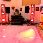 DJ with 8 Lights & Floor on Rent