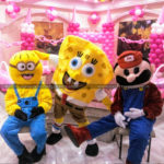 Minion, Sponge Bob, & Super Mario Cartoon Costume on Rent