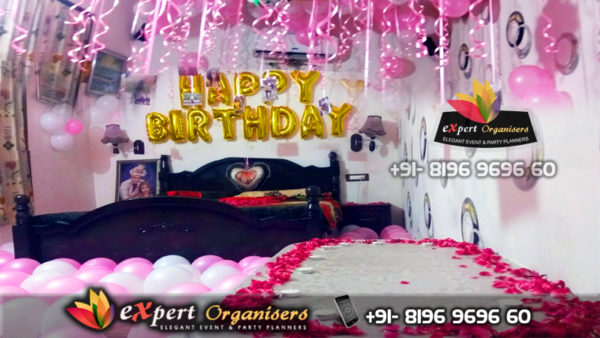 Surprise Room Decorations for girlfriend, boyfriend, wife or husband Chandigarh Mohali Panchkula