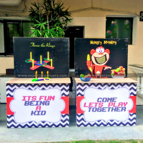 Ring Game & Hungry Monkey Game Stall